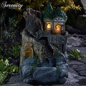 Serenity Fairy Tree House Water Feature