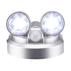 zennox pir  led motion sensor duo pivot light