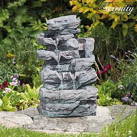 Rockfall Indoor and Outdoor Water Feature