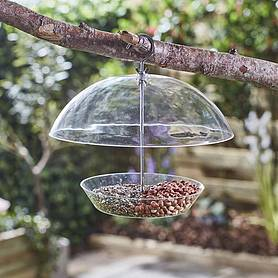 Happy Beaks Squirrel Proof Domed Bird Feeder