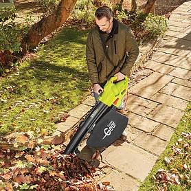 garden gear w in blower vacuum and shredder