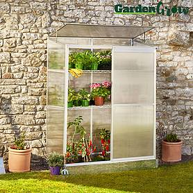 Garden Grow Compact Greenhouse 4x2ft