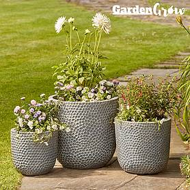 Garden Grow Minnesota 3-Pack of Egg Planters