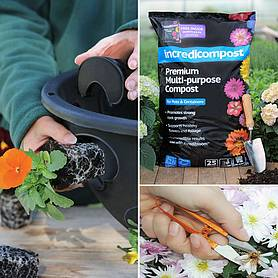 hanging basket essentials kit