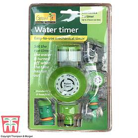 irrigation mechanical water timer green