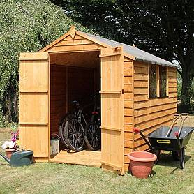 8 X 6 Waltons Overlap Shed