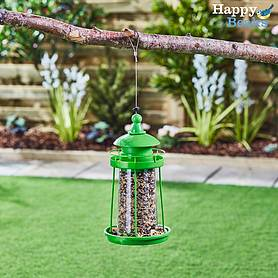 Happy Beaks Large Lantern Bird Feeder
