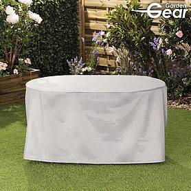 garden gear premium round furniture cover  medium