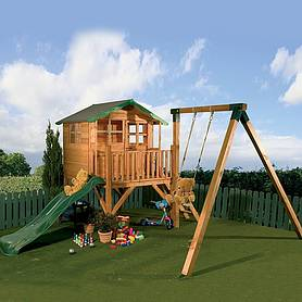 poppy playhouse with tower  activity set