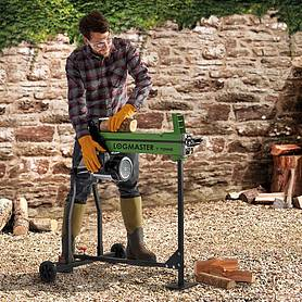 Logmaster 7 Tonne Electric Log Splitter with Stand