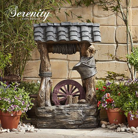 Wishing Well Water Feature Thompson Amp Morgan