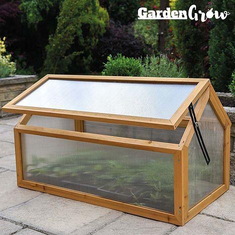 Garden Grow Wooden Cold Frame
