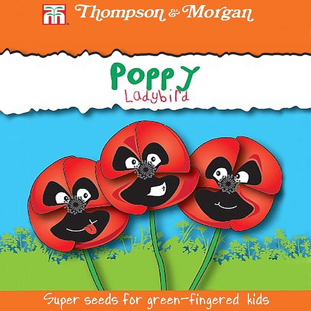 poppy 39 ladybird 39 seeds thompson morgan. Black Bedroom Furniture Sets. Home Design Ideas