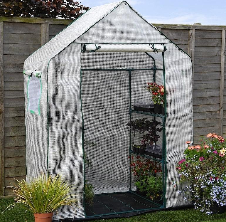 Garden Grow Premium Portable 6 Shelf Greenhouse from Thompson & Morgan