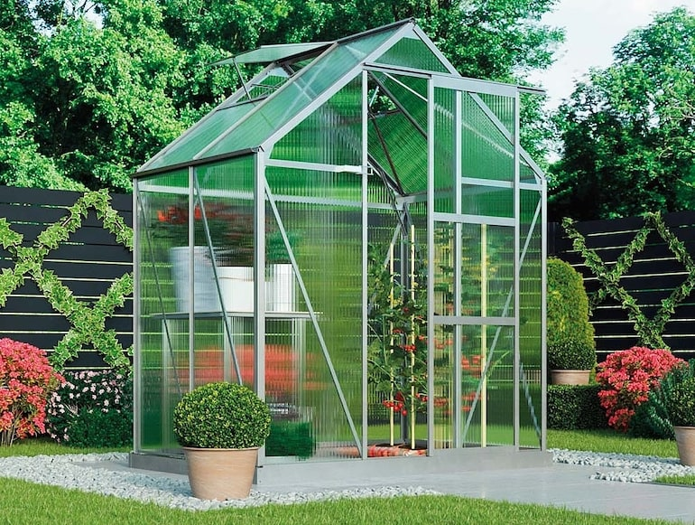 Garden Grow Deluxe Edition Greenhouse 6x4ft from Thompson & Morgan