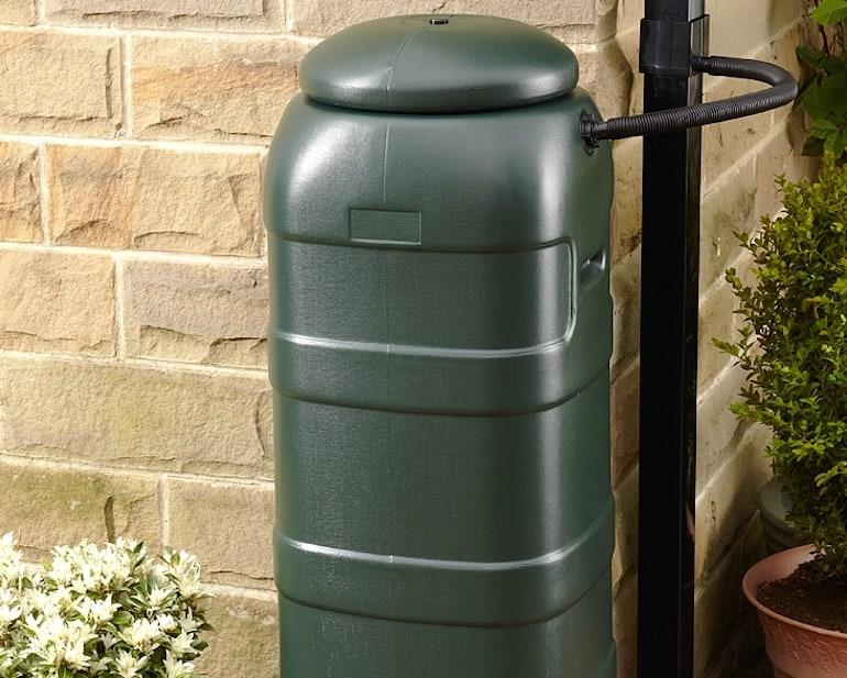 Space saving Slimline Water Butt from Thompson & Morgan
