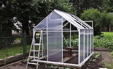 preparing your site for a greenhouse