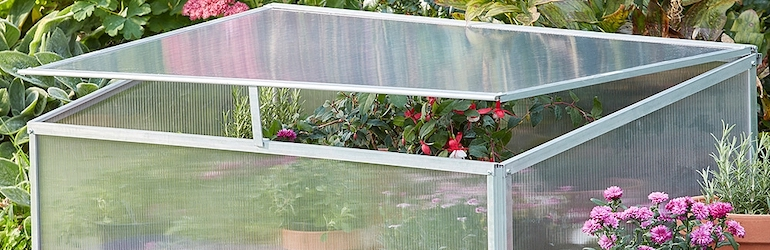Garden Grow Aluminium Cold Frame from Thompson & Morgan