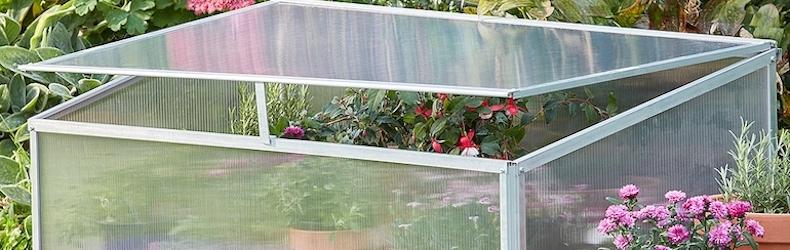 Garden Grow Aluminium Cold Frame from Thompson & Morgan
