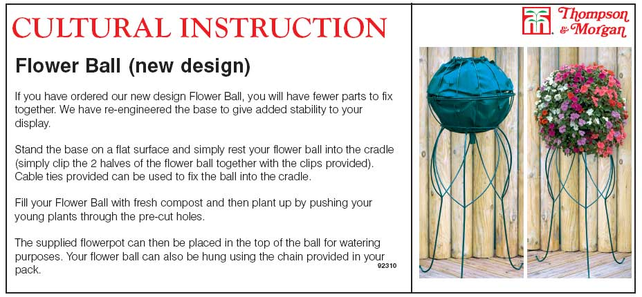 How to assemble a flower ball