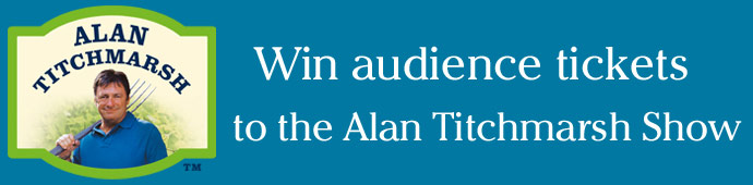 Win tickets to The Alan Titchmarsh Show