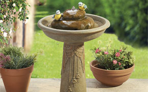 Add a beautiful finishing touch to your new garden design