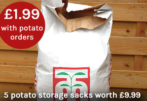 Only £1.99 with your order of 4 or more packs of potatoes