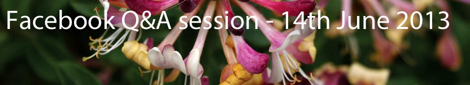 Facebook Q&A Session 14th June 2013