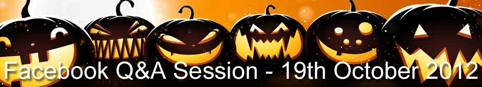 Facebook Q&A Session 19th October 2012