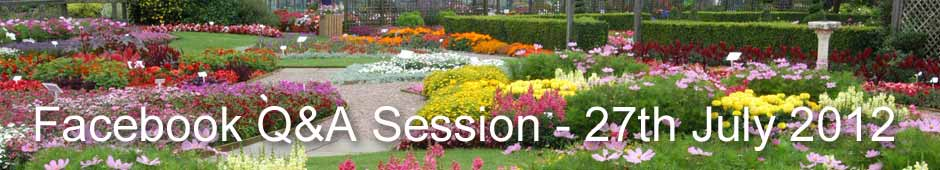Facebook Q&A Session 27th July 2012