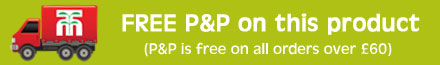 FREE P&P on orders over £60