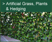 Artificial Grass, Plants & Hedging