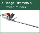 Hedge Trimmers & Power Pruners