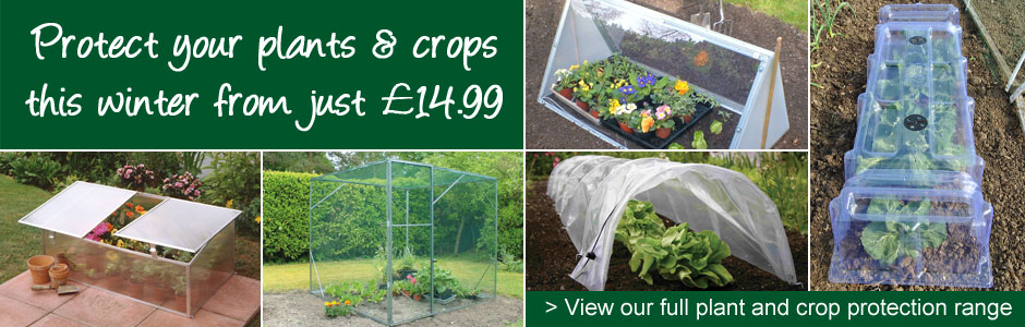 Protect your plants and crops this winter from just £14.99