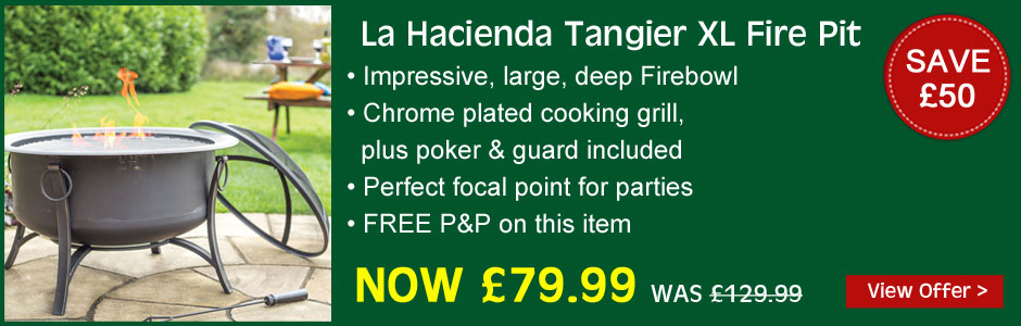 Tangier XL Firepit - now just £79.99