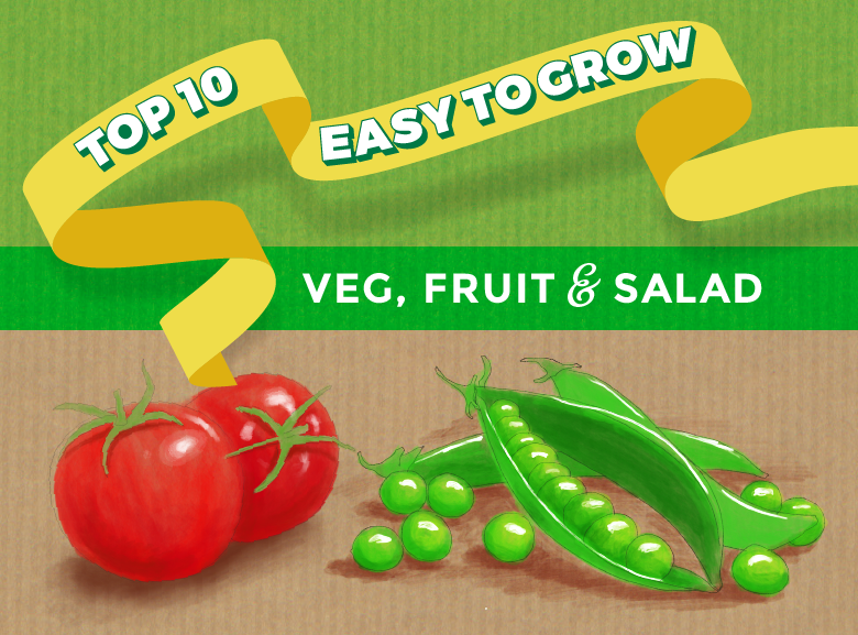 10 easy to grow veg