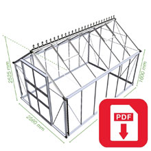 Eden Greenhouse Blockley Assembly Guide