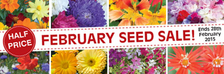 February Seed Sale NOW ON