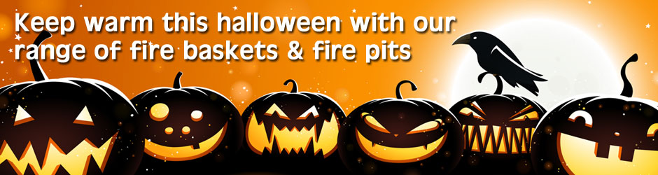Keep warm this halloween with our chimeneas and fire pits