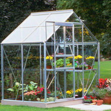 Halls Popular 6ft x 4ft Greenhouse - from just £299.99