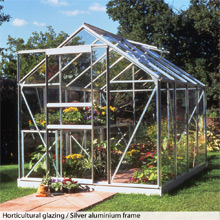 Halls Popular 8t x 6ft Greenhouse - from just £399.99