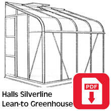 Halls Silverline Greenhouse Assembly Guide