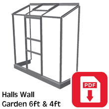 Halls Wall Garden Assembly Guide
