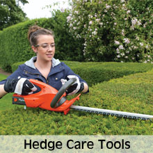 Machinery for maintaining a hedge in tip top condition