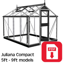 Juliana Compact Greenhouse Assembly Guide