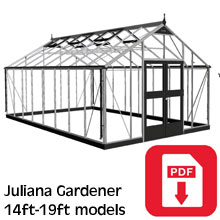Juliana Gardener Greenhouse Assembly Guide