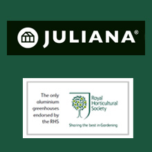Juliana Greenhouses - the only aluminium framed greenhouses endorsed by the RHS