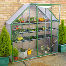Norfolk Greenhouses Spacesaver Greenhouse only £149.99 - SAVE £20
