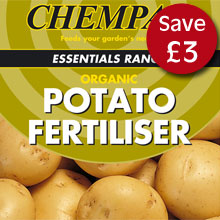 Potato Fertiliser - only £6.99 with any potato order. Worth £9.99