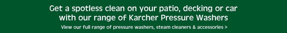 Our range of Karcher Pressure Washers
